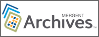 Mergent Archives database link